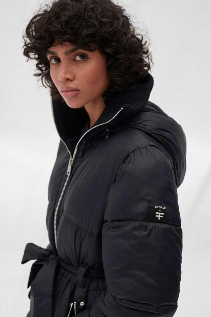 Stylish winter coats are a trademark of ECOALF. Image  Via